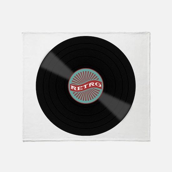 Cute Vinyl Throw Blanket