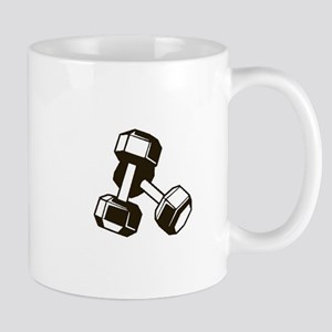 Fitness Dumbbells Mugs