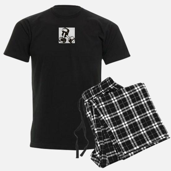 Fitness Dumbbells Pajamas