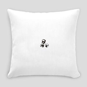 Fitness Dumbbells Everyday Pillow