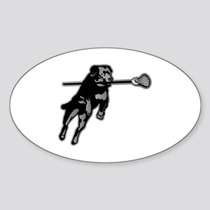 Lax Dog Sticker