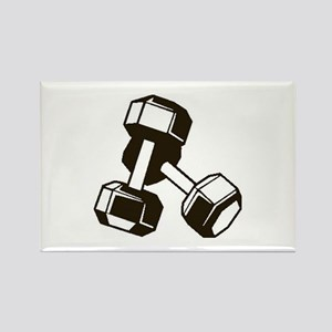 Fitness Dumbbells Magnets
