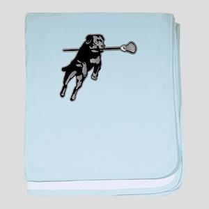 Lax Dog baby blanket