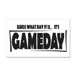Gameday Rectangle Car Magnet