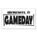 Gameday Sticker