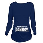 Gameday Long Sleeve Maternity T-Shirt