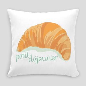 Petit Dejeuner Everyday Pillow