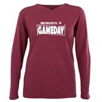 Gameday Plus Size Long Sleeve Tee