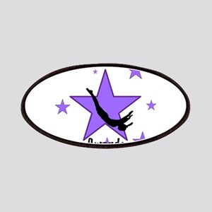 Purple Trampoline Star Patch
