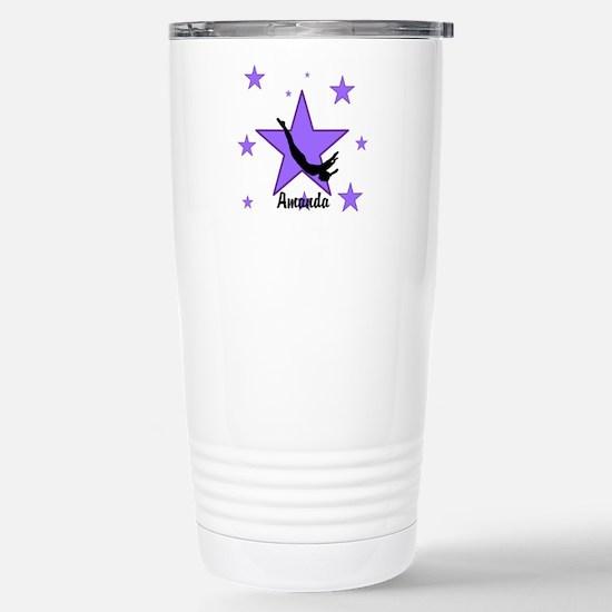 Purple Trampoline Star Travel Mug