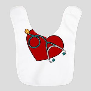 Nurse RN Heart Bib