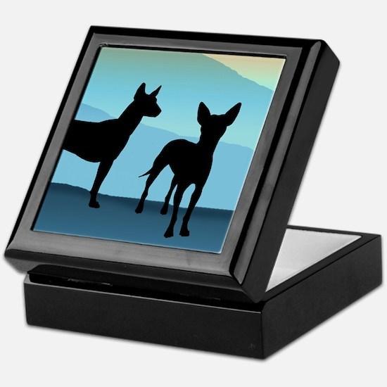 Blue Mountain Xolo Keepsake Box