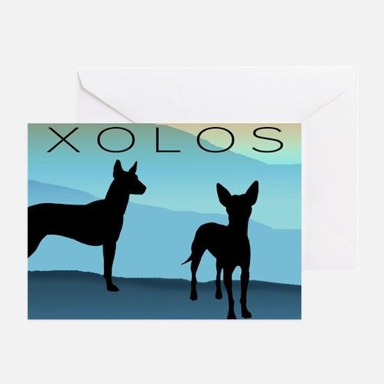 Blue Mountain Xolo Greeting Cards (Pk of 10)