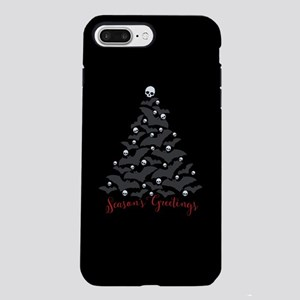 Bats And Skulls Holiday iPhone 8/7 Plus Tough Case