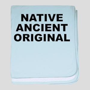 Native Ancient Original Light Baby Blanket