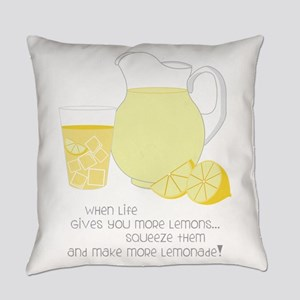 When Life Gives You More Lemons... Everyday Pillow