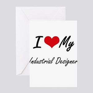 Industrial designers greeting cards cafepress i love my industrial designer greeting cards m4hsunfo