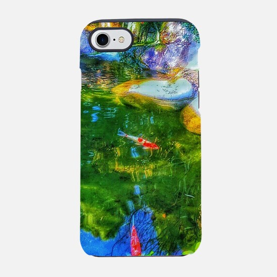 Glowing Reflecting Pond iPhone 8/7 Tough Case