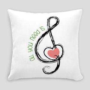Need Music Everyday Pillow