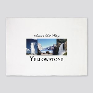 Yellowstone Americasbesthistory.com 5'x7'Area Rug