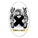 McGarrigal Sticker (Oval 50 pk)