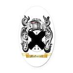 McGarrell Oval Car Magnet