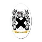 McGarrell 35x21 Oval Wall Decal