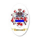 McGannon 20x12 Oval Wall Decal