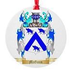 McGann Round Ornament
