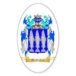 McGahan Sticker (Oval 50 pk)