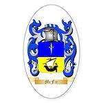 McFie Sticker (Oval)