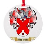McFarland Round Ornament
