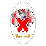 McFarland Sticker (Oval 50 pk)