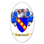 McFadyen Sticker (Oval 10 pk)