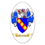 McFadin Sticker (Oval 50 pk)