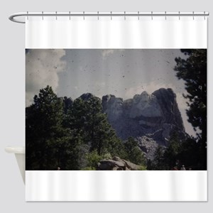 PICT0044 mount rushmore Shower Curtain