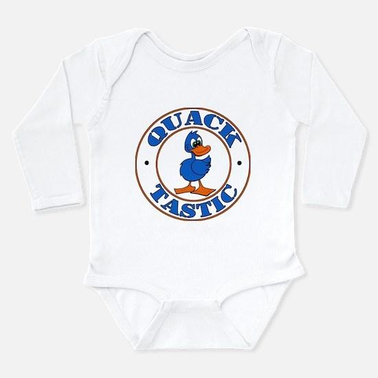 Cute Quack Long Sleeve Infant Bodysuit