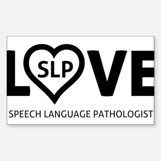 LOVE SLP Decal