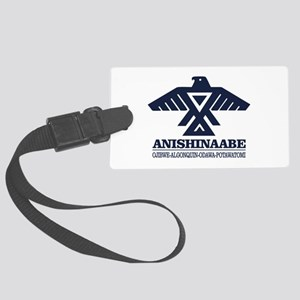 Anishinaabe Luggage Tag