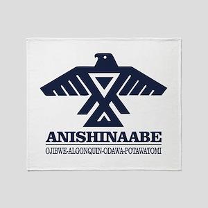 Anishinaabe Throw Blanket
