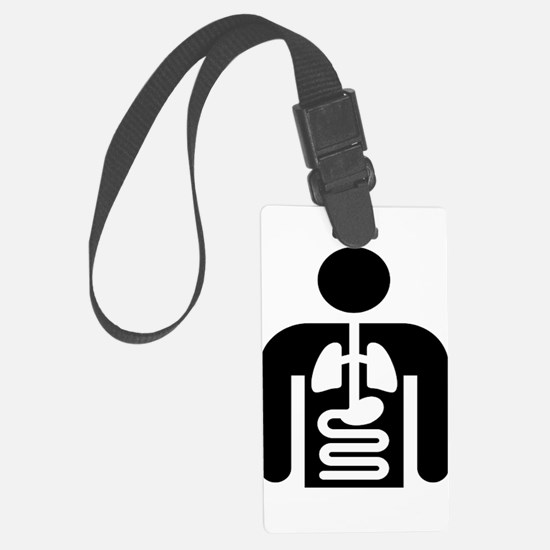 Internal Medicine Icon Luggage Tag