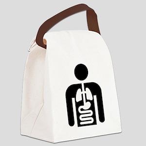 Internal Medicine Icon Canvas Lunch Bag