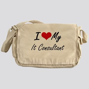 I love my It Consultant Messenger Bag