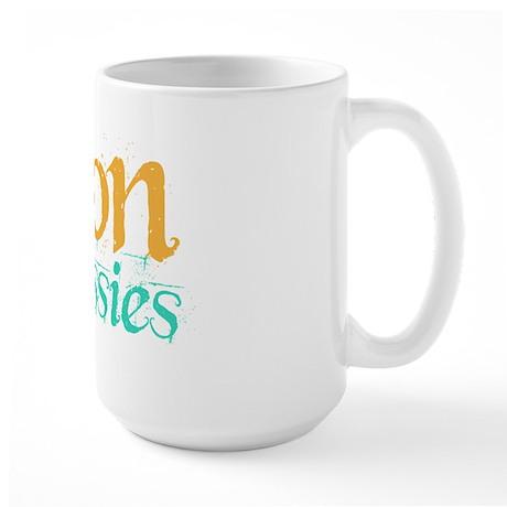 Canon is 4 Sissies Large Mug
