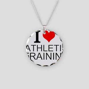 I Love Athletic Training Necklace
