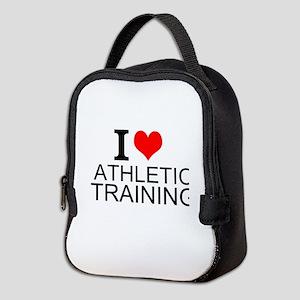 I Love Athletic Training Neoprene Lunch Bag