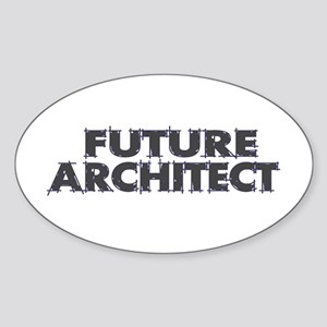 Future Architect Oval Sticker