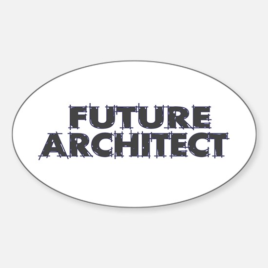 Future Architect Oval Decal