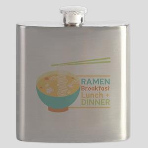 Breakfast Lunch & Dinner Flask