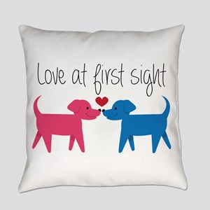 Love @ First Sight Everyday Pillow